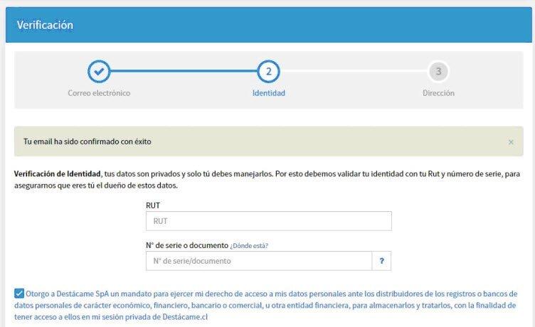 proceso de solicitar Dicom.