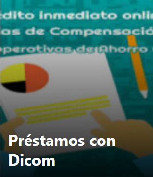 solicitar préstamos con Dicom